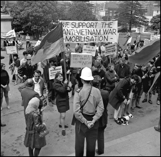 Anti-Vietnam War ProtestsIn New Zealand - Overview